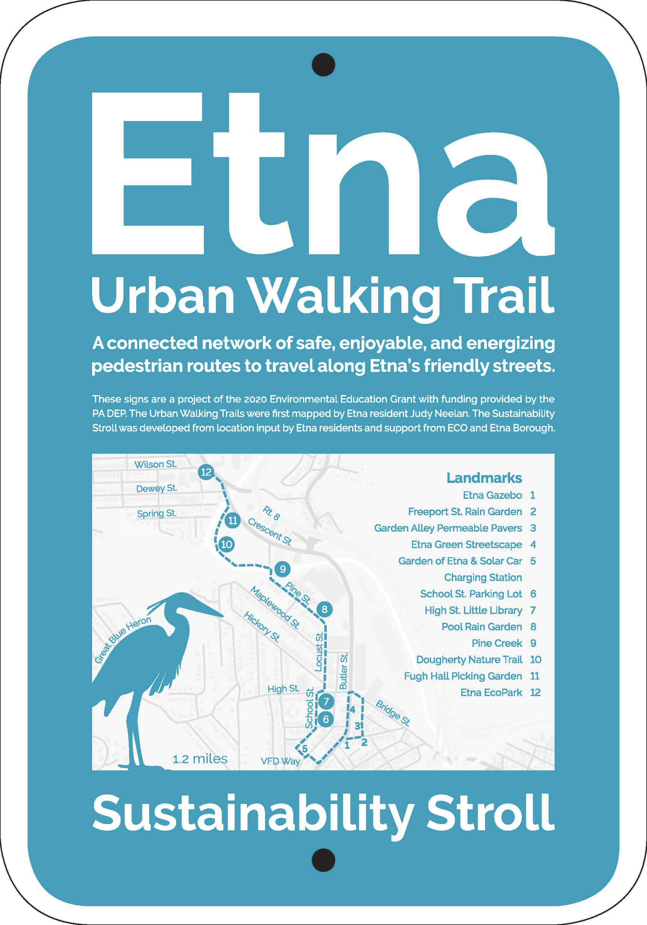 Etna adds a new walking trail
